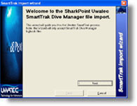 SmartTrak Manager logbook Import for SharkPoint for Windows